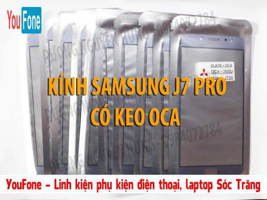 KINH LIEN KEO SAMSUNG J7 PRO XANH